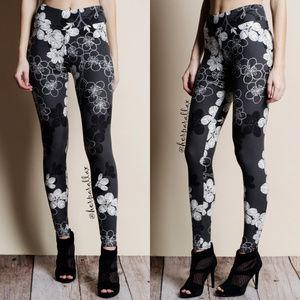 Floral Print Super Soft Leggings